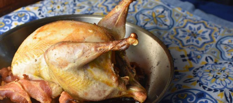 Roast Pheasant Marsala Sauce