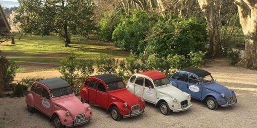 2CV Touring Classic Cars Luberon Provence