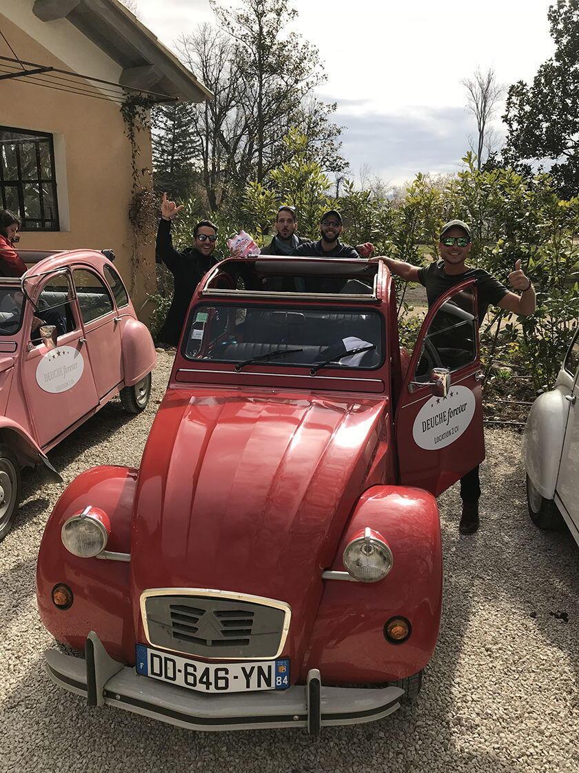 2Cv Tours Luberon Provence