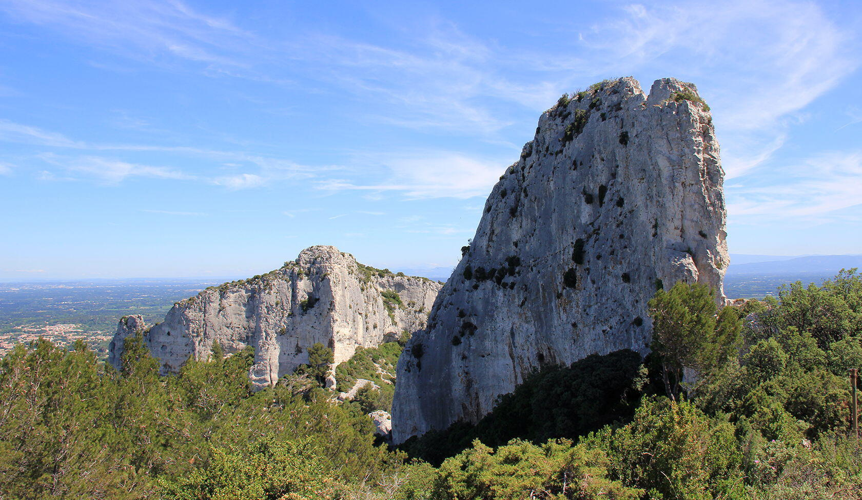 Alpilles Hiking Tips Deux Trous