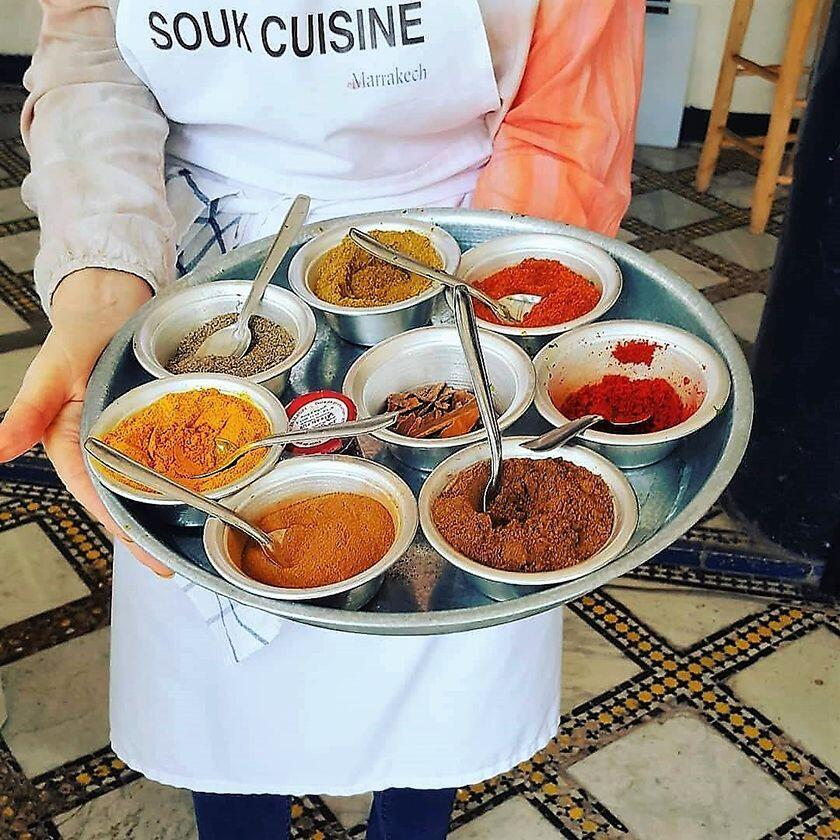 Marrakech Culinary Adventure Showcase of Moroccan Spices