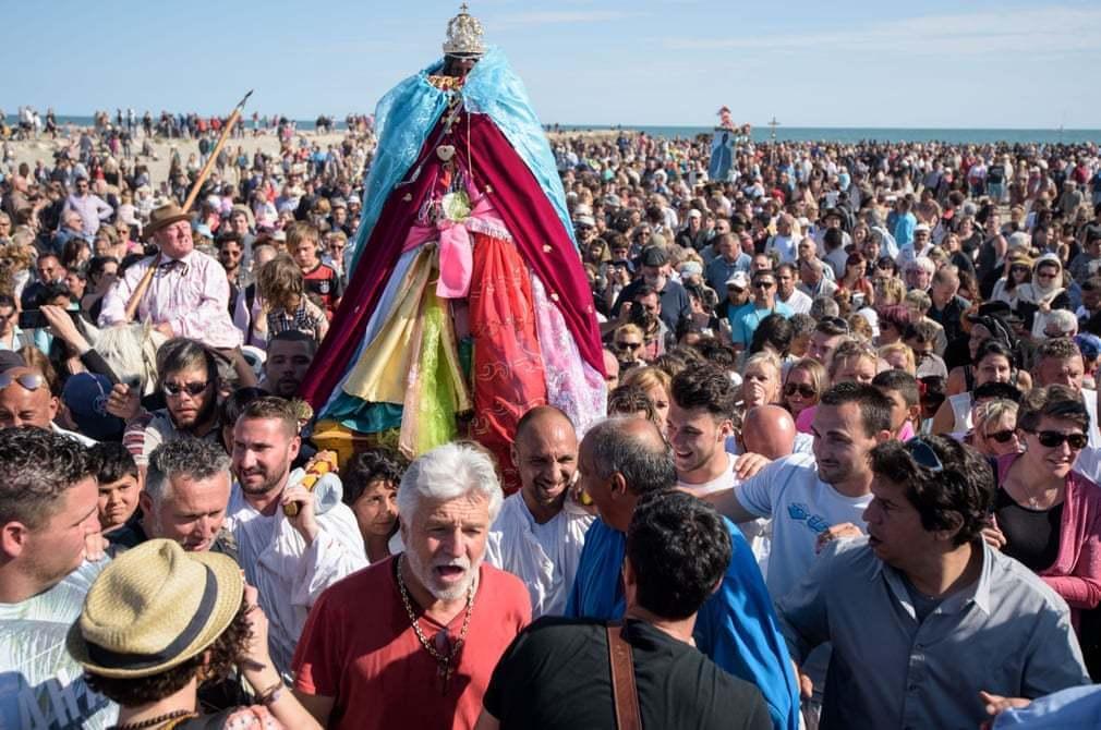 Mary Magdalene Black Sara to the sea