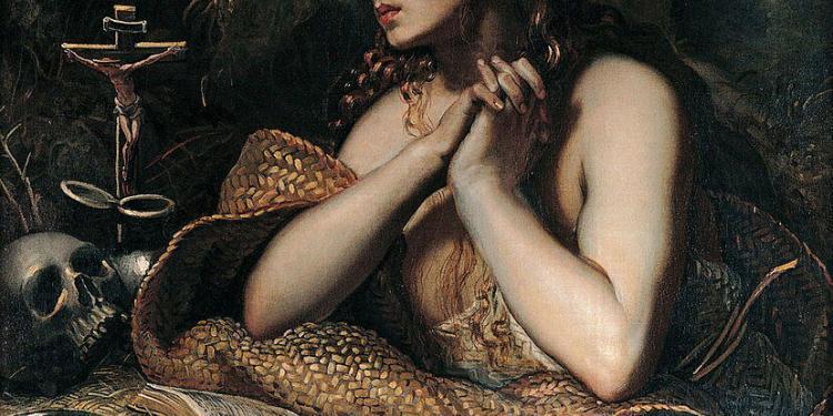 Mary Magdalene Provence Tintoretto public domain