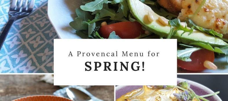 Delicious Spring Menu Provence
