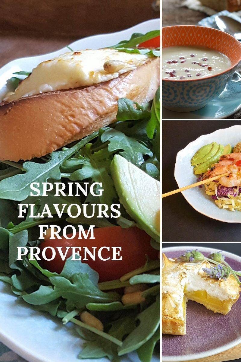 Spring Menu Provence 2019