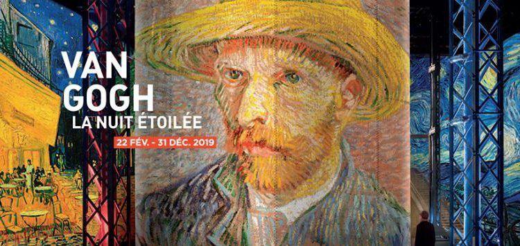 Carrières de Lumières Paris Van Gogh 1