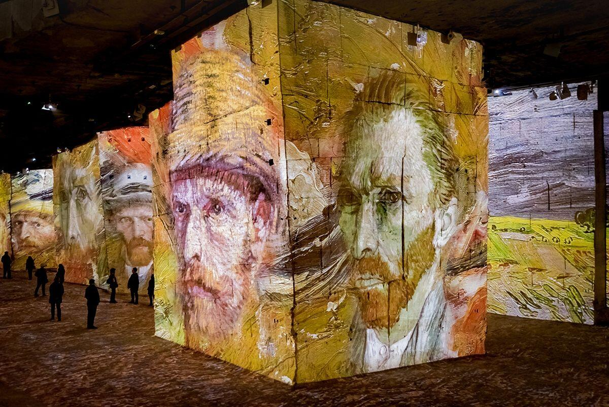 Carrières de Lumières Provence Van Gogh 3