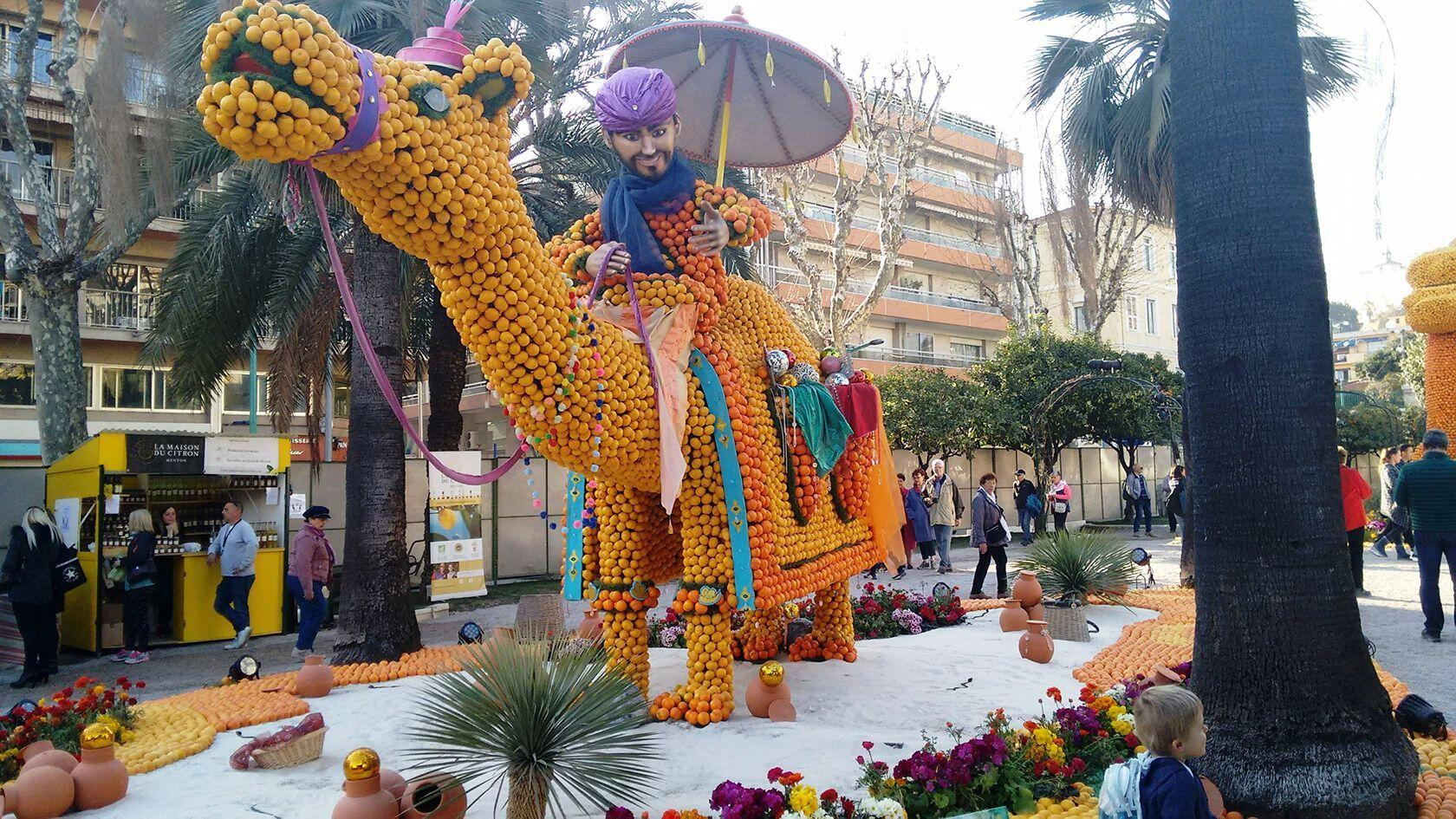 French Riviera Visit Menton Citrus Festival