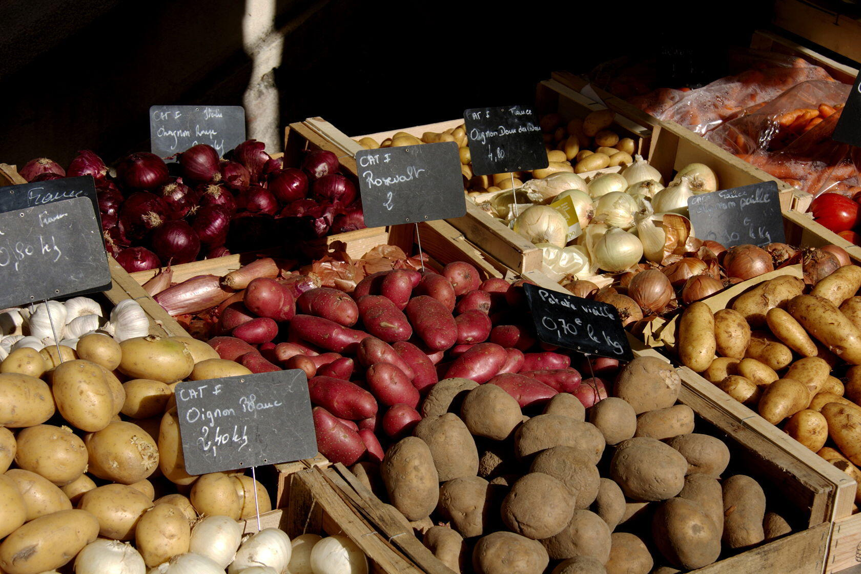 Market Potatoes Provence