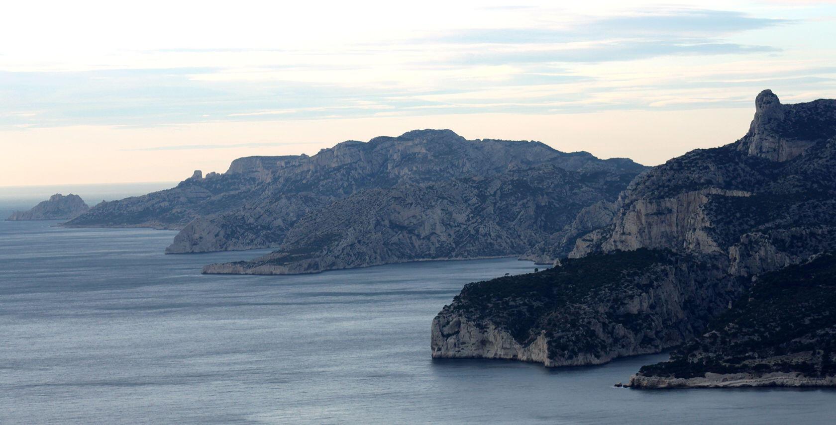 Route des Cretes Cassis to La Ciotat