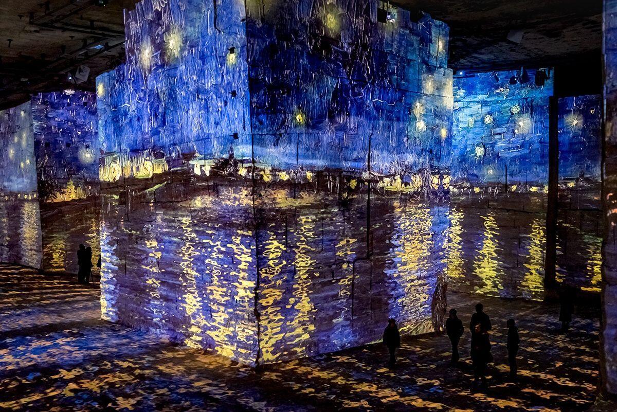 Van Gogh Carrières de Lumières Paris