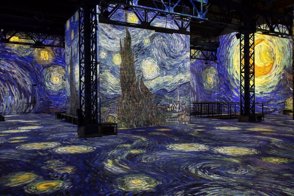 Van Gogh Carrières de Lumières Provence