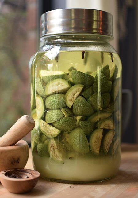 Green Walnuts for Nocino Liqueur de Noix