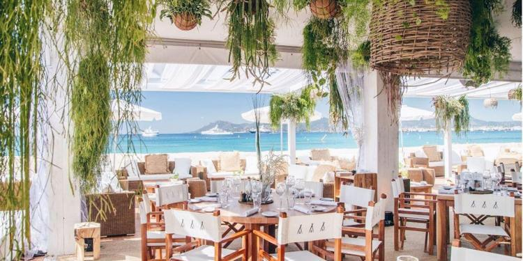 Cannes Film Festival Nikki Beach POP UP during Cannes Film Festival 2019
