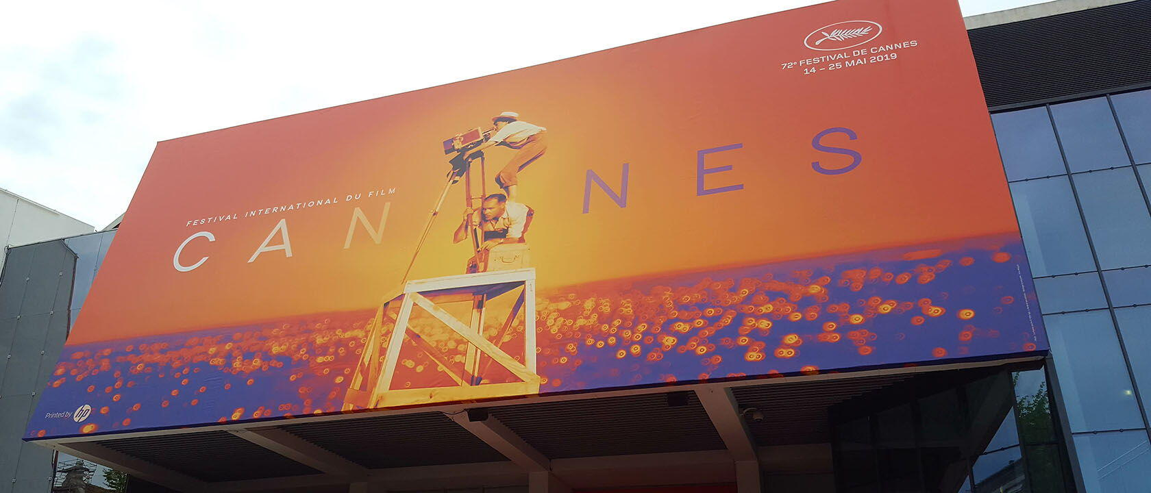 Cannes Film Festival Official Poster on Billboard 2019