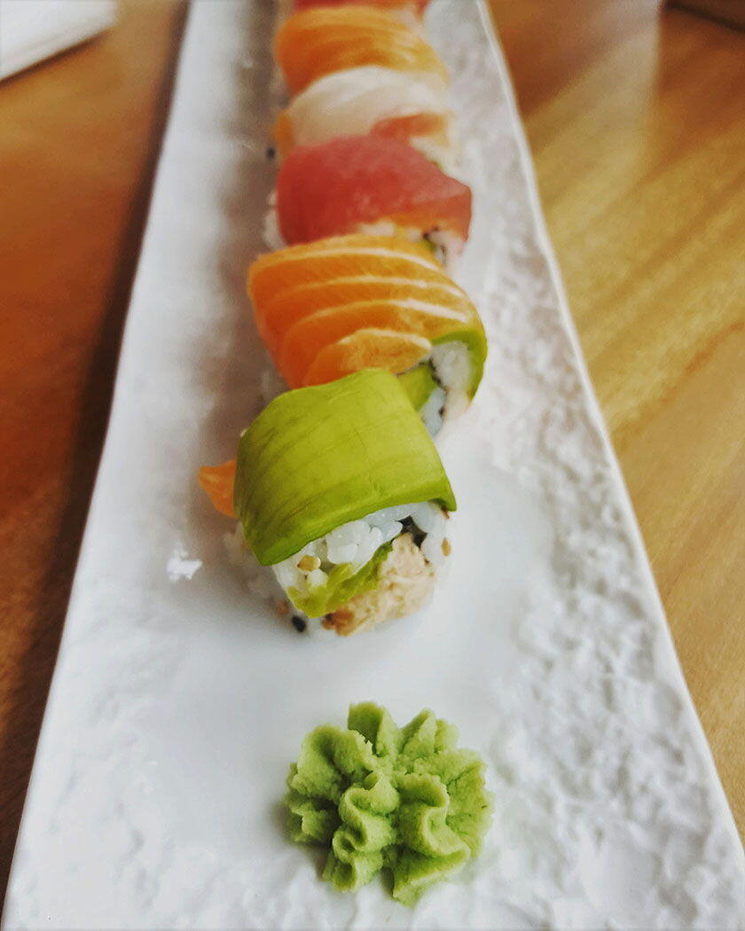 Nikki Beach Sushi Cannes 2019 Rainbow Roll