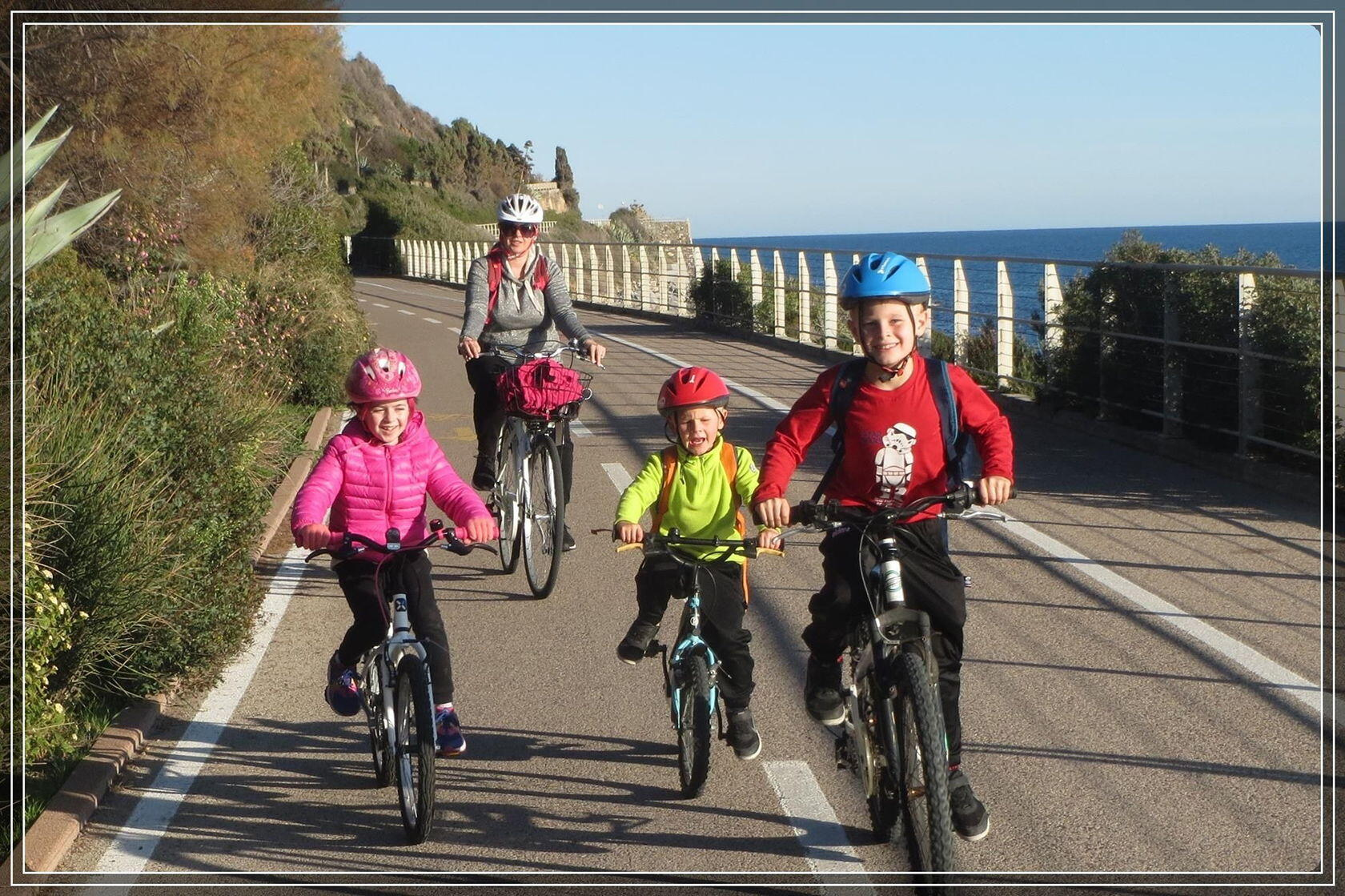 Safe Cycling Top French Riviera en Famille