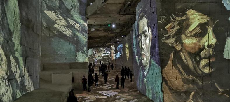 Vincent Van Gogh Carrieres de Lumieres Le Baux de Provence