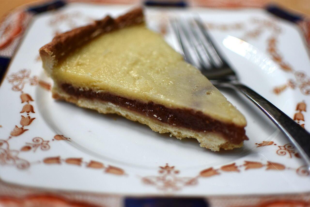 Fig Buttermilk Tart