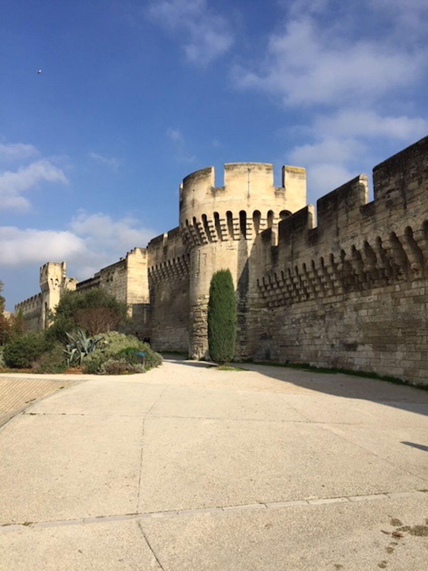 AVIGNON City Walls Provence Artist's Art Tour