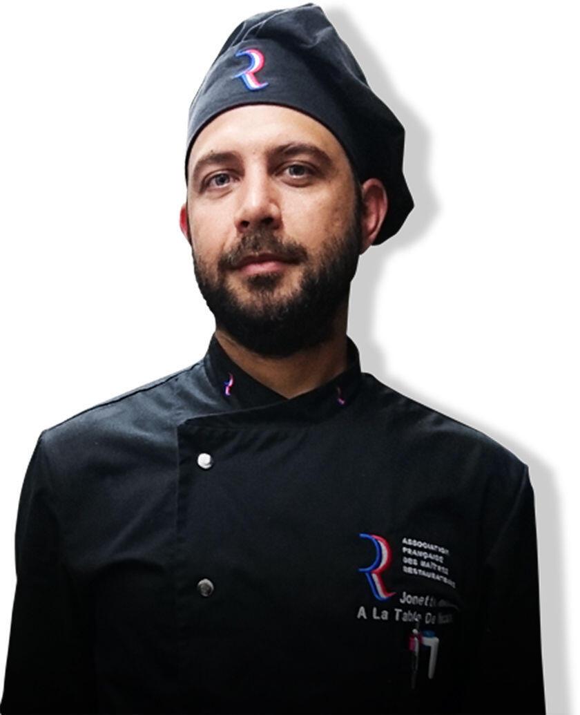 Chef Nicolas Jonette