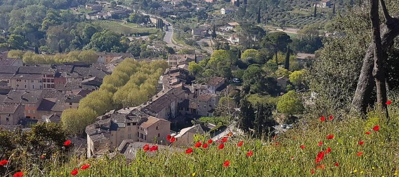 Cotignac Views Provencal Countryside Benefits Rural Village Provence