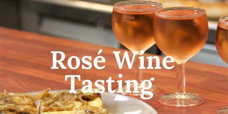 Nice Rosé Wine Tasting