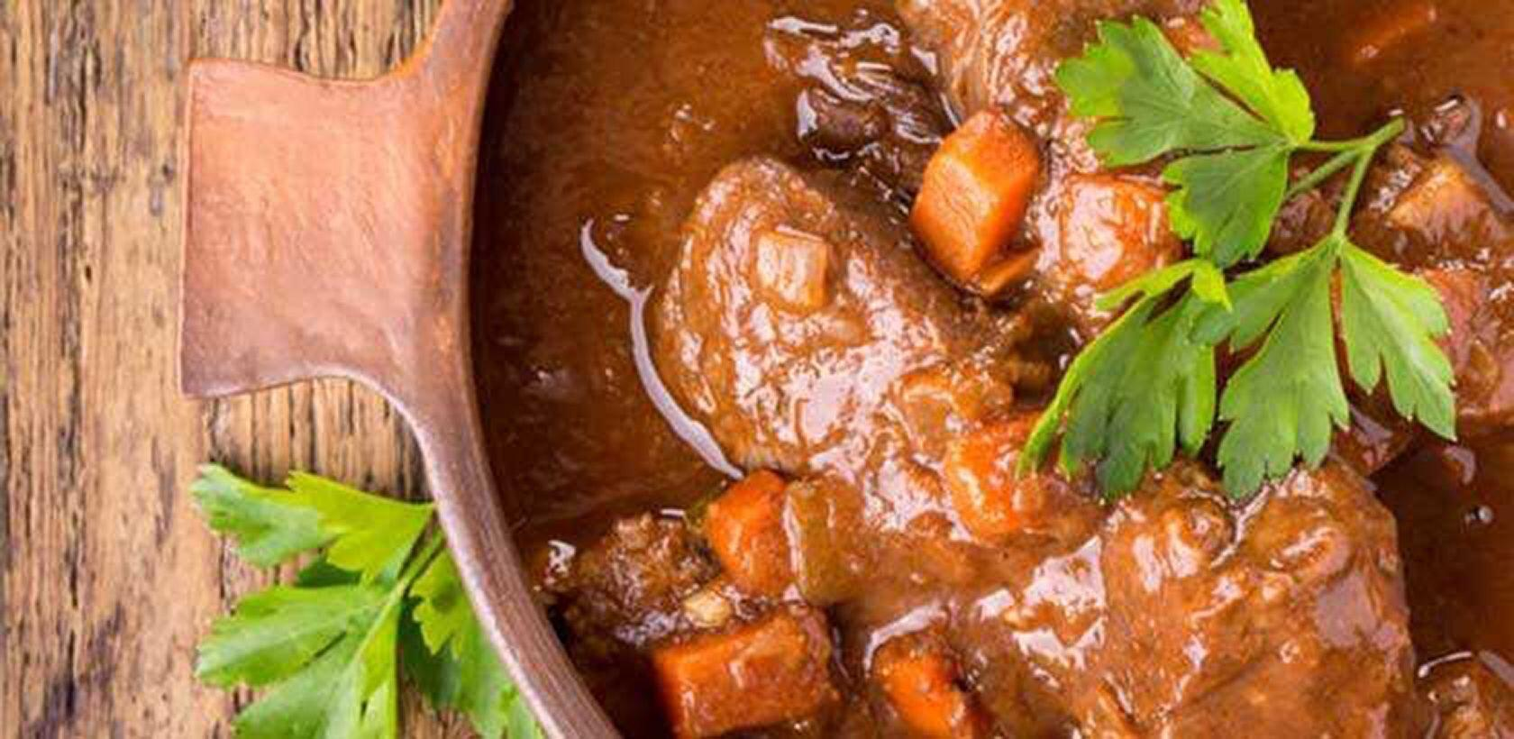 Provencal Lamb Stew Daube Recipe White Wine