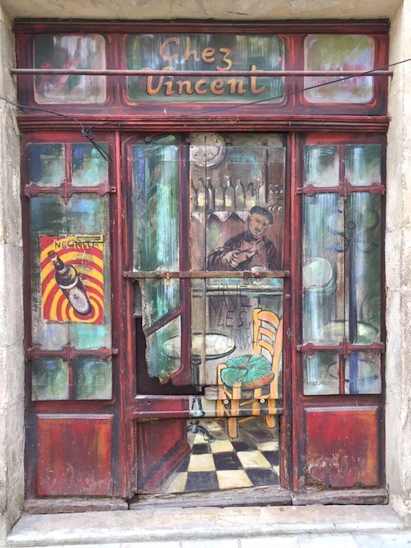 Provence Artist's Art Tour Street Art
