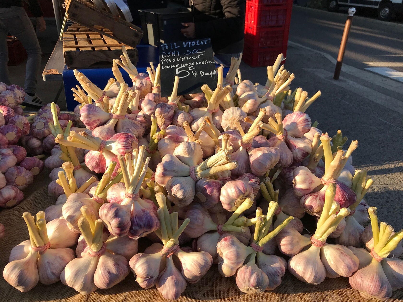 Provence Market fresh garlic