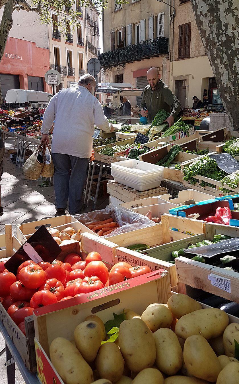 Weekly Cotignac Market Benefits Rural Village Provence