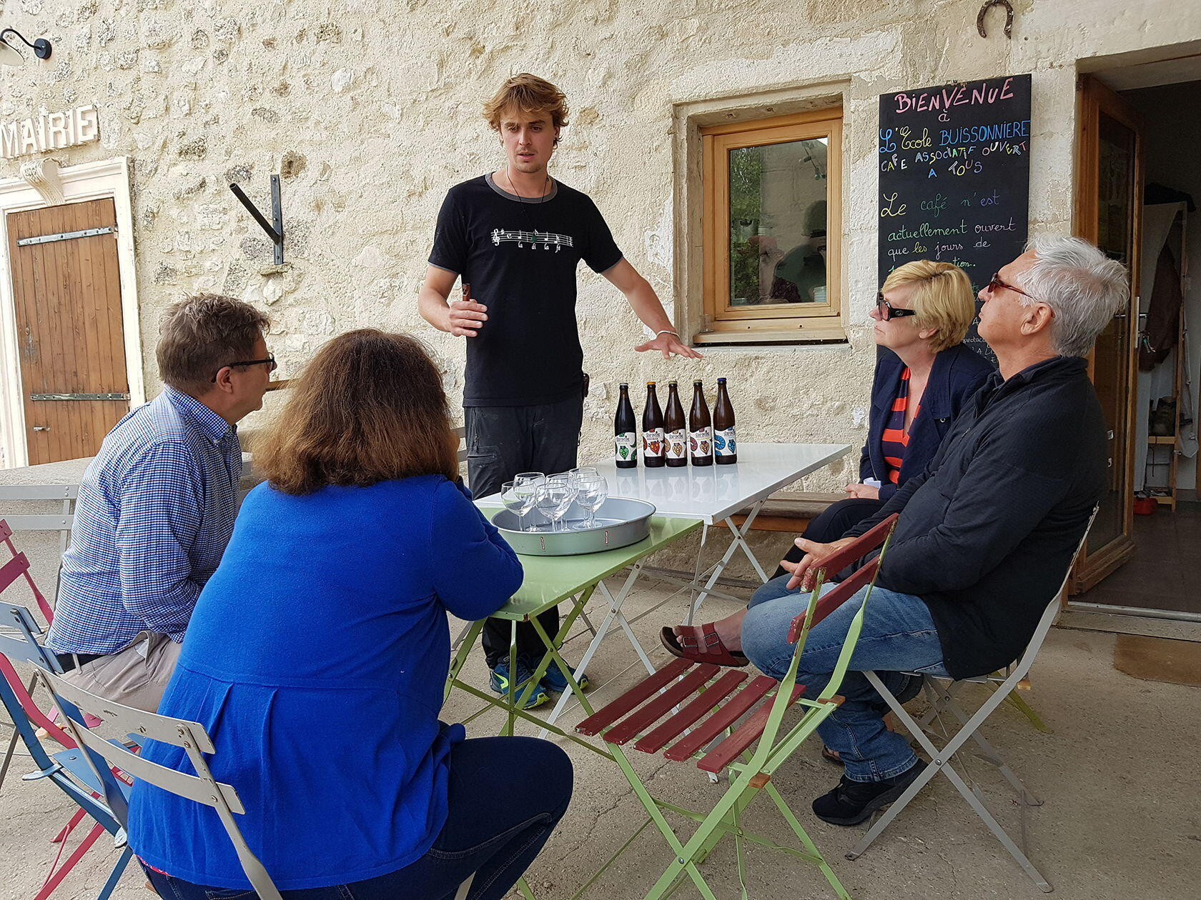 Beer Tasting Recipe Learning French Provence