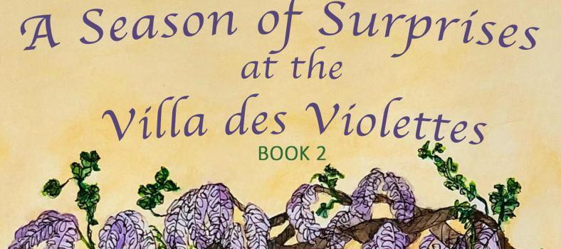 New Patricia Sands Book A Season of Surprises at Villa des Violettes