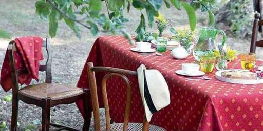 Provencal Fabrics Easy EntertainingCotton rectangular-tablecloths