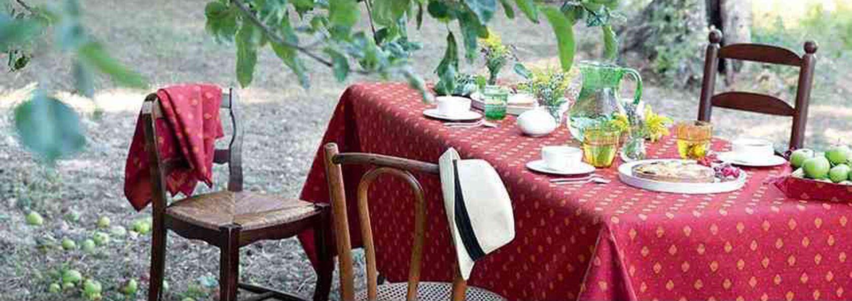 Provencal Fabrics Easy EntertainingCotton rectangular-tablecloths