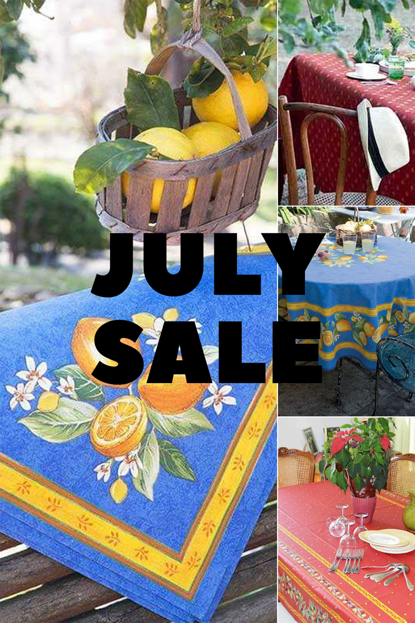 Remember Provence Fabrics JULY SALE
