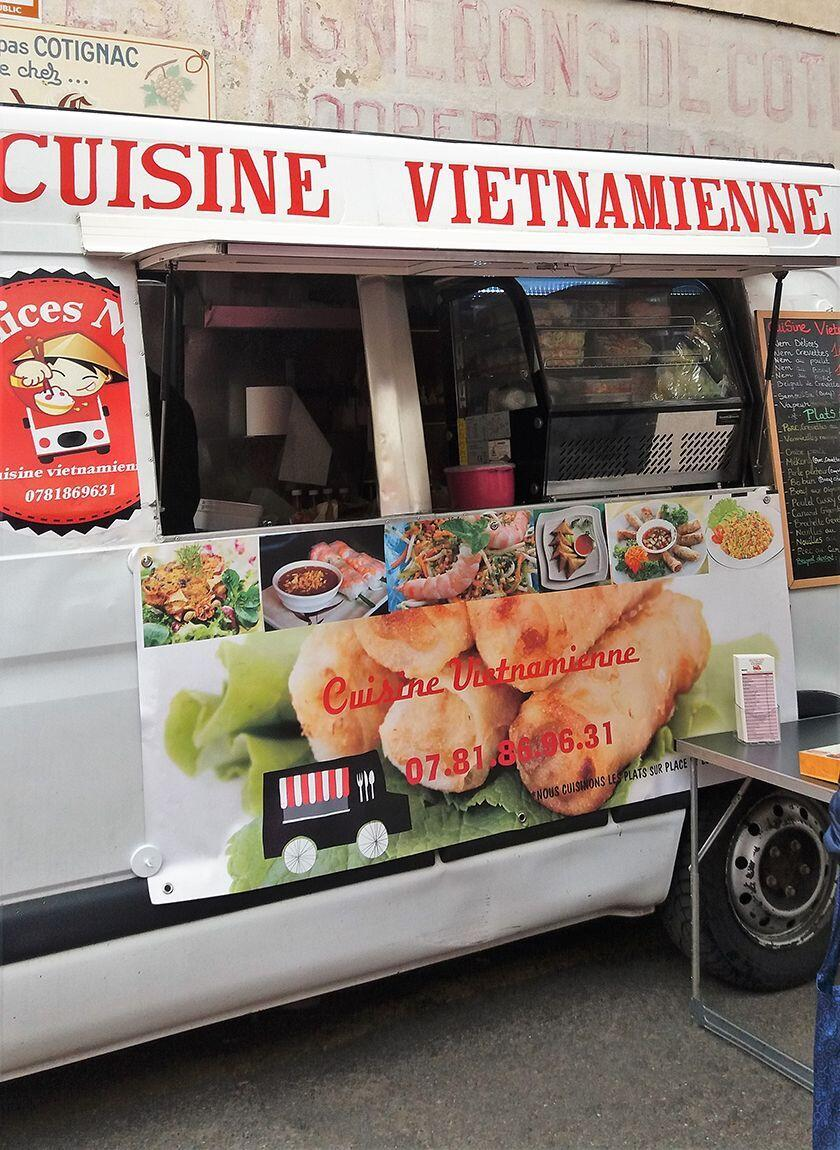 Vietnamese food truck Provence Living