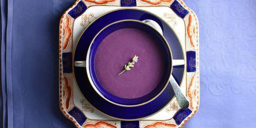 Summer Soup Blueberry Lavender