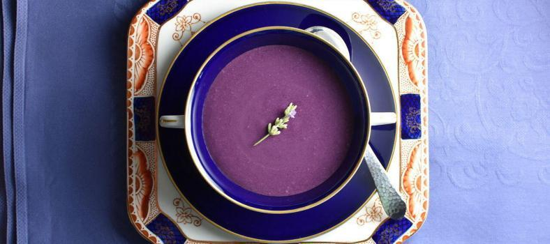 Summer Soup Blueberry Lavender
