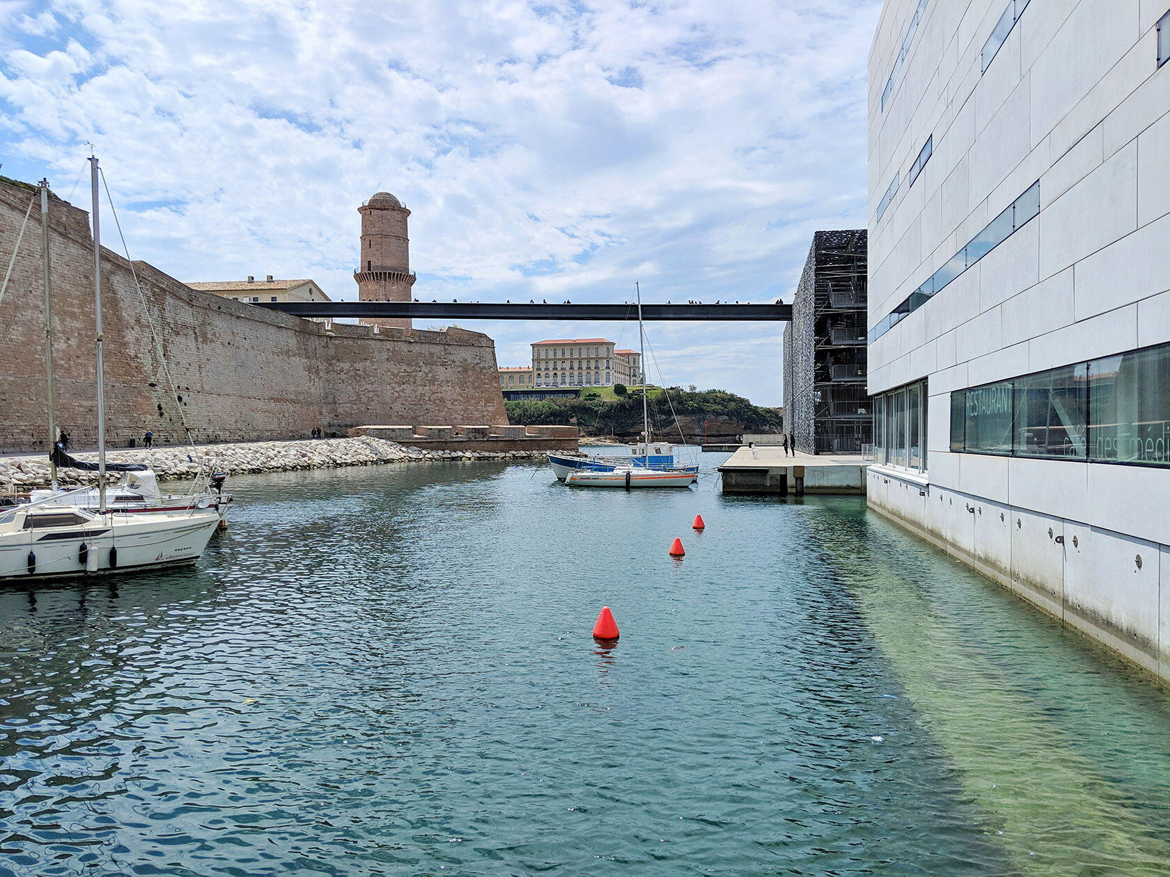 Fort Saint Jean Bridge to MuCEM