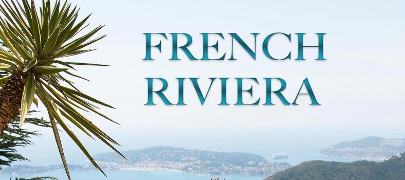 French Riviera Photo Book Cover