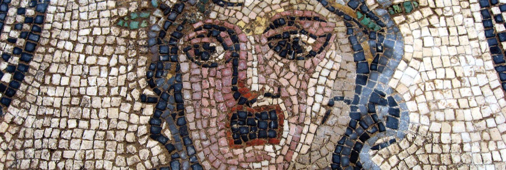 Musée de la Romanite Nimes mosaic.