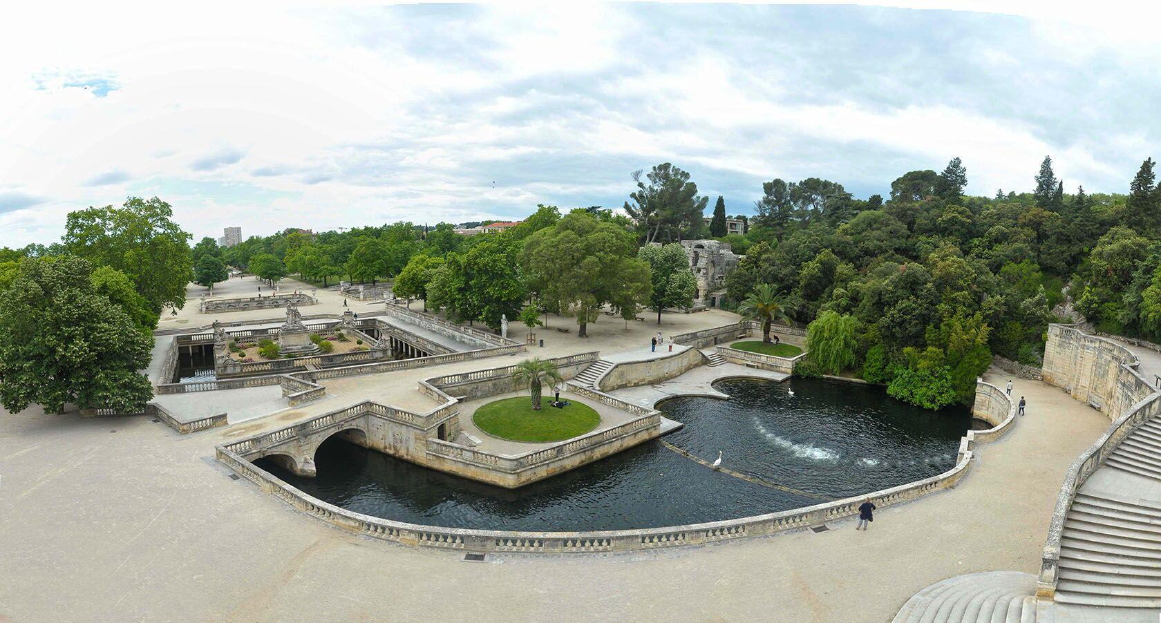 Nimes Road Trip Jardins de la Fontaine Nîmes Roman History Highlights