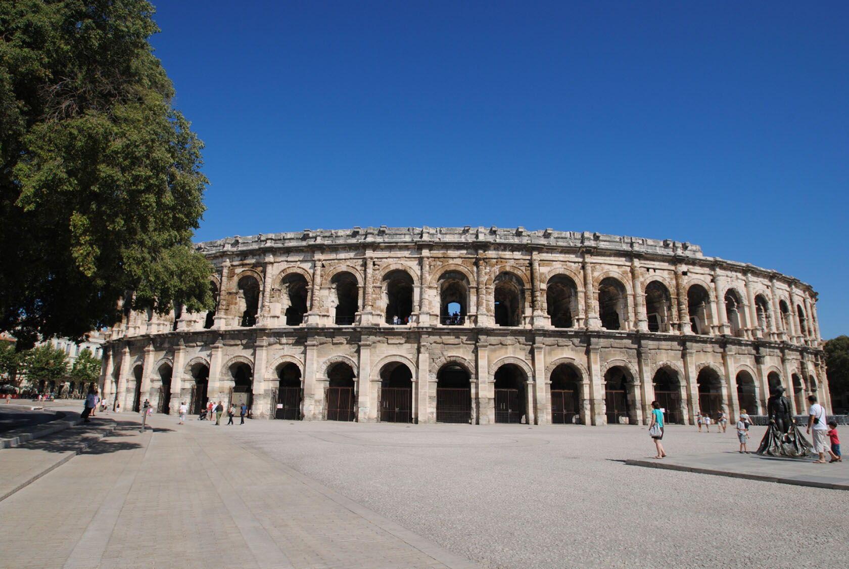 Nimes arena Amphitheatre