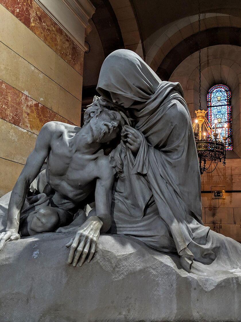 Pietà Statue Marseille
