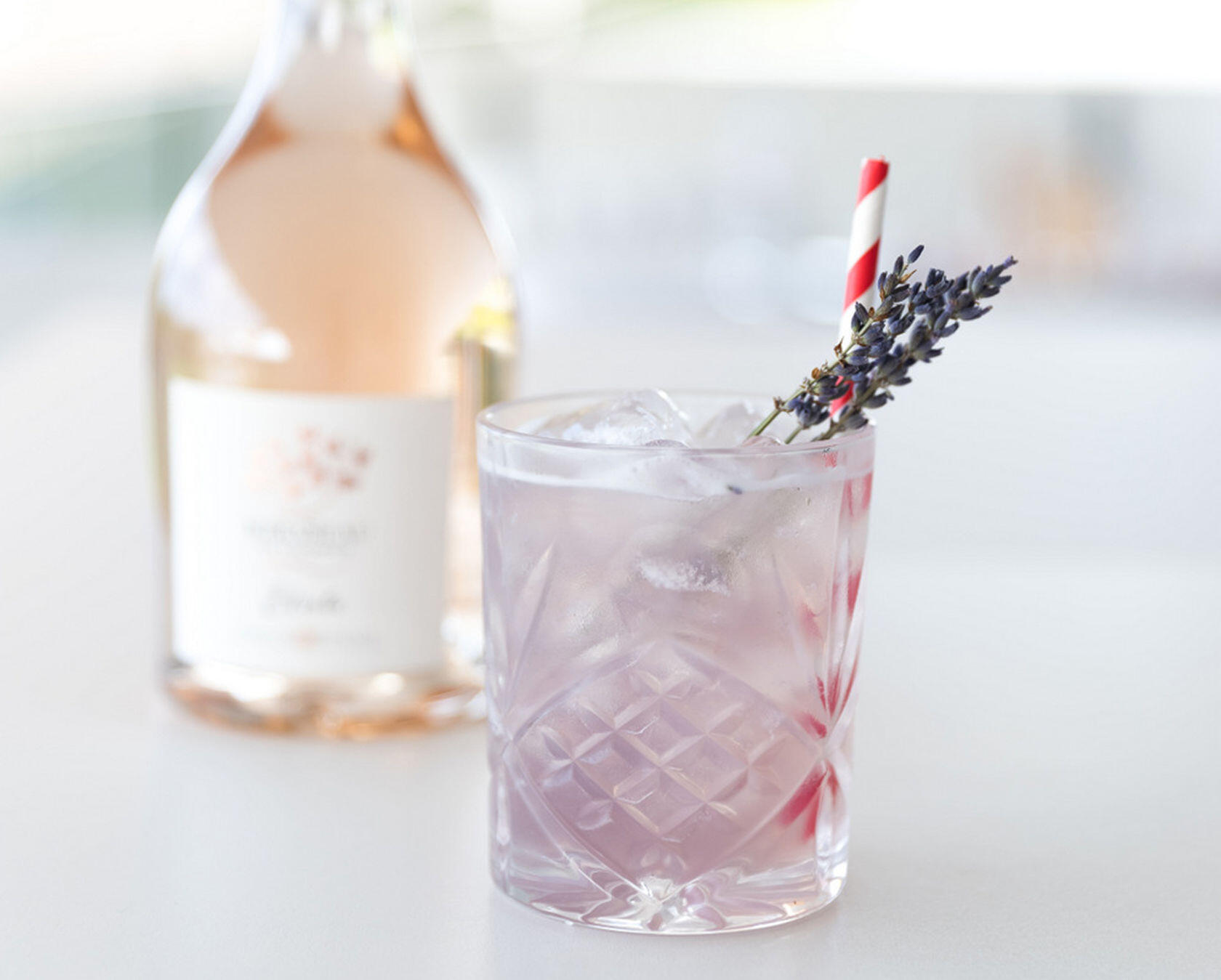 Provence Etoile Rosé Cocktail Mirabeau Wine