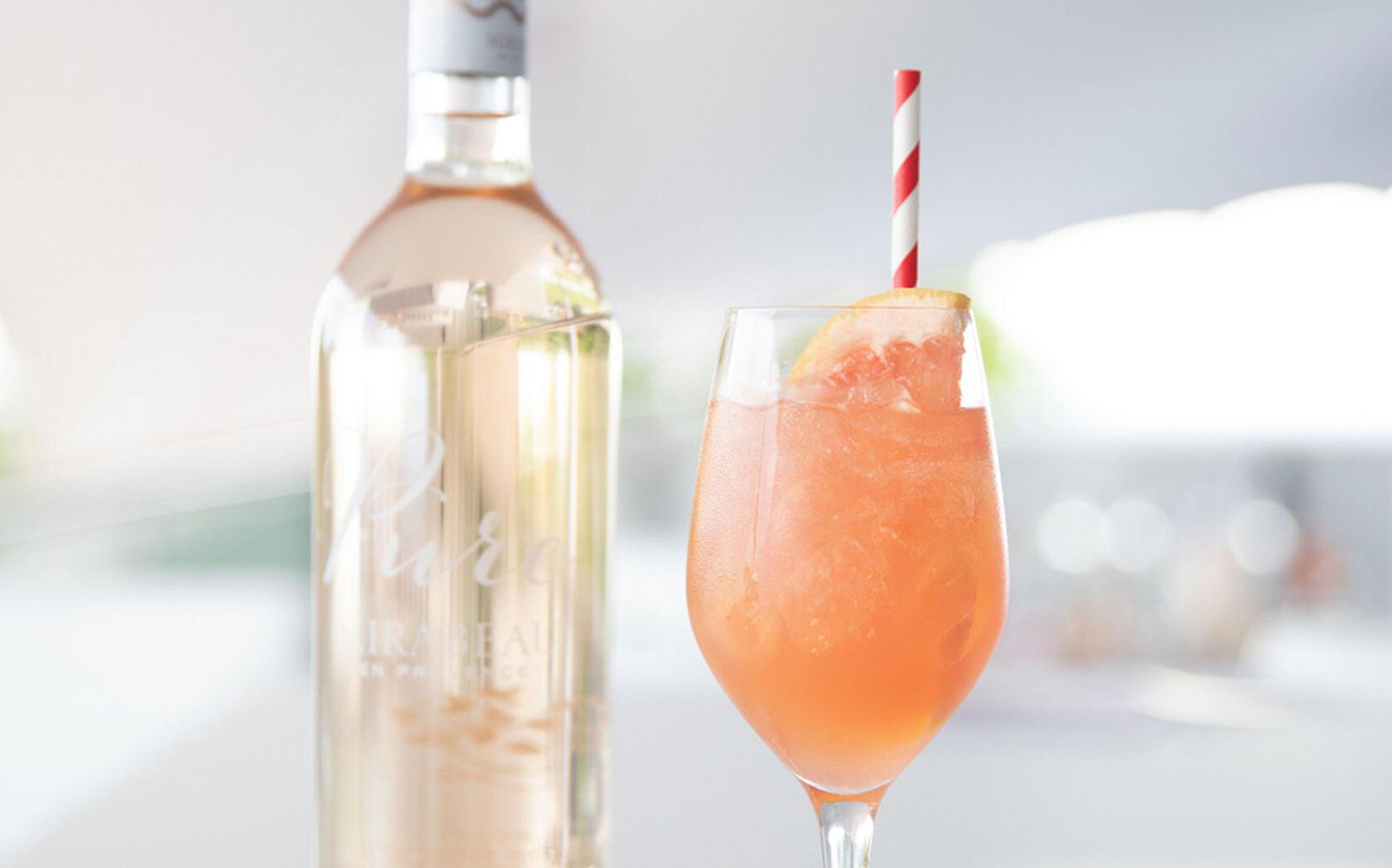 Rosé Spritz Cocktail Mirabeau Wine Pure Provence Rosé