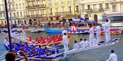 Séte Saint Louis Festival Water Jousting Grand Canal