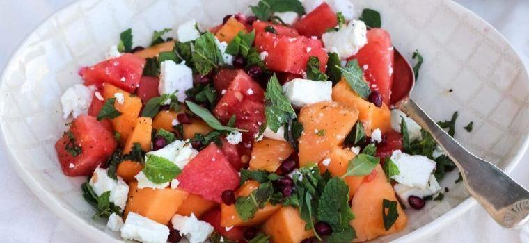Summer Salad Watermelon Feta