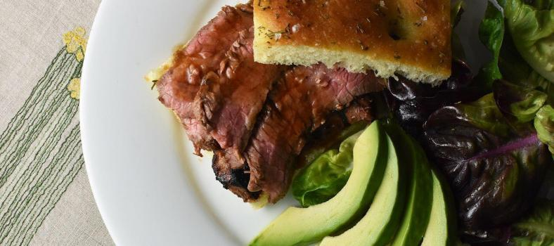 Grilled Steak Sandwich Recipe